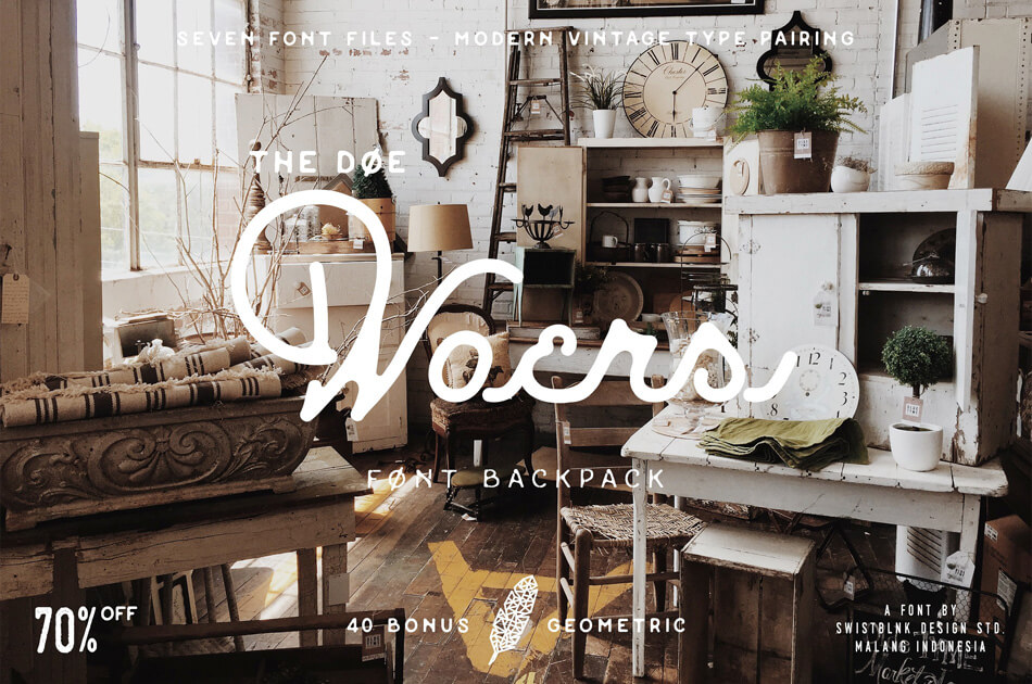 The Doewoers Font Bundle