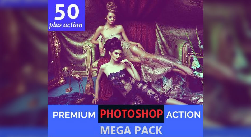 50 Plus Photoshop Actions