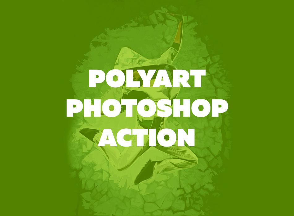 Polyart Photoshop Action
